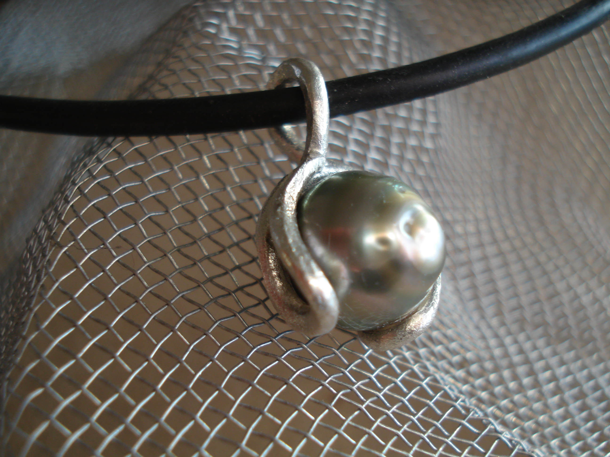 pendentif perle tahitienne