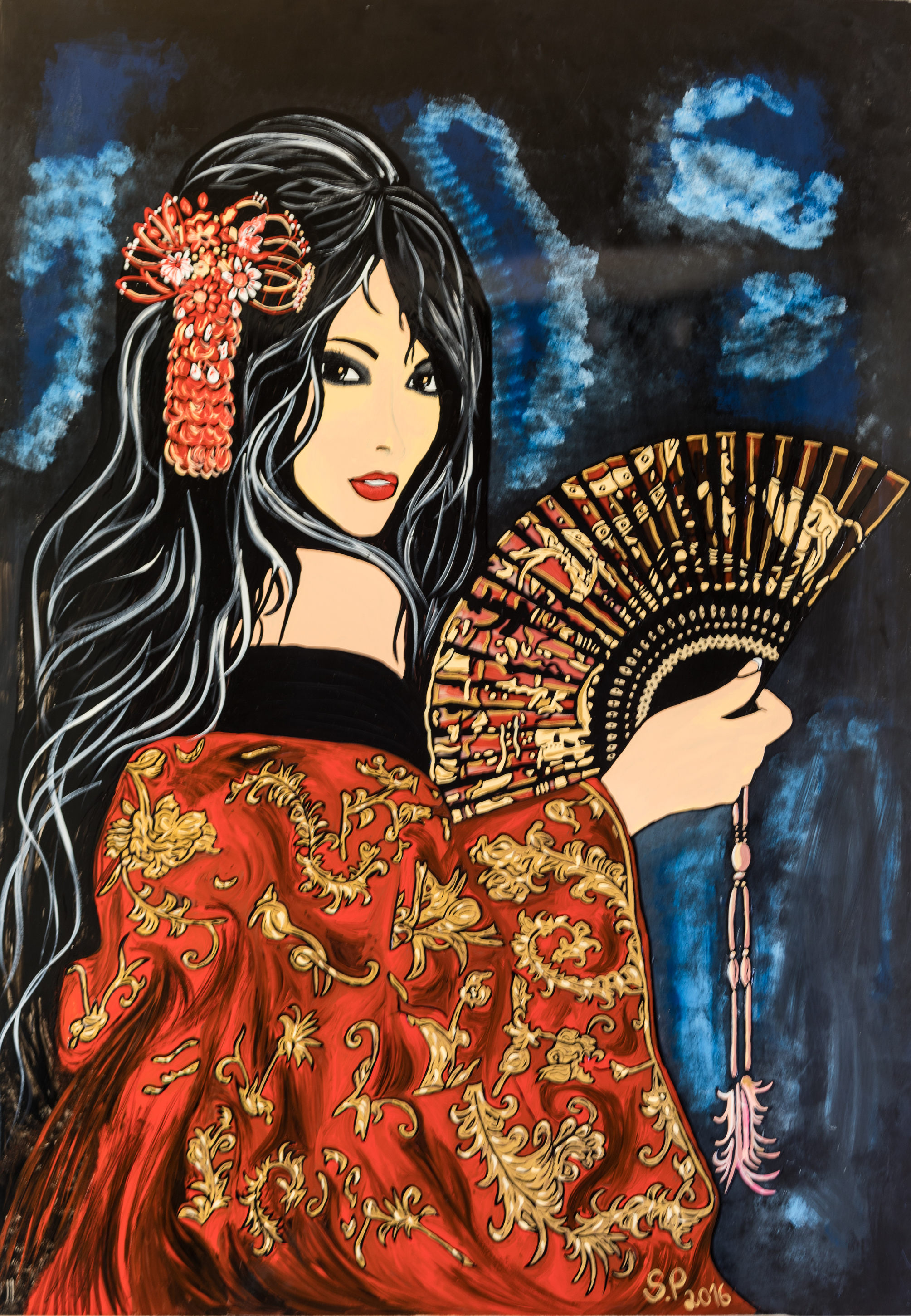 geisha redim.